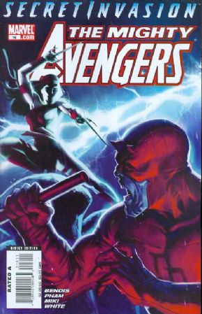 Mighty Avengers #16 Secret Invasion Marvel Comics US Import